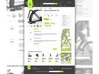 bike shop view page