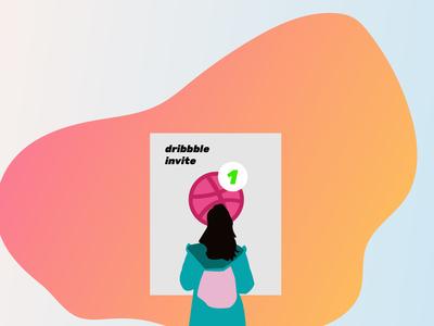 october Dribbble Invitation