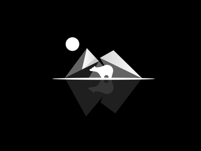Polar Bear graphic design design minimal illustrator branding illustration logo