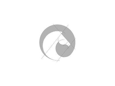 Horse minimal design flat vector branding icon logo