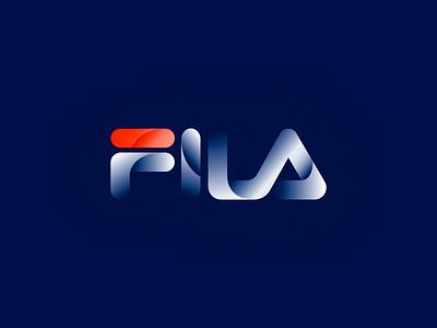 FILA logo logomark logodesign vector icon logo branding