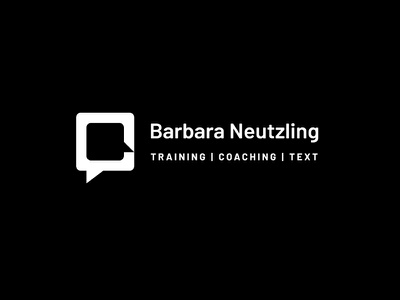 Barbara Neutzling Coaching vector logo design branding