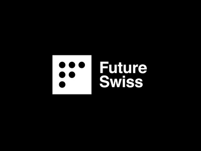 Future Swiss Engineering design branding logo