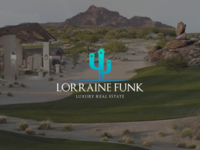 New concept logotype for Lorraine Funk!