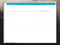 Windows 8 App Wireframe Templates