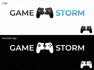 GameStorm - Gaming store logo