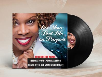 Album Cover for a Motivational Speaker Educationalist