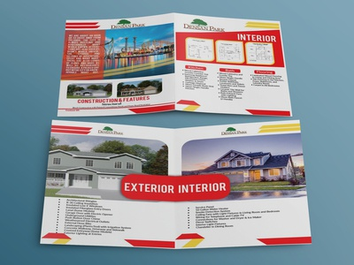4-Pages Real Estate Brochure