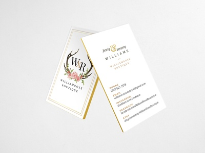WxR Business Card