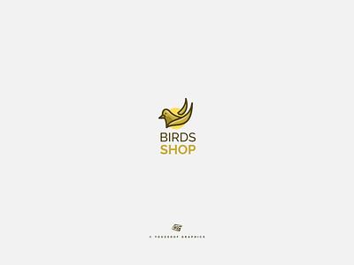 logo Birds Shop branding logo conception logo design logo inspiration logo folio logoideas logoconcept birdlogos birdlogo bird birds logobird logofolio logodesign logos logo