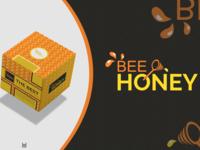 Logo Bee Honey & Packaging