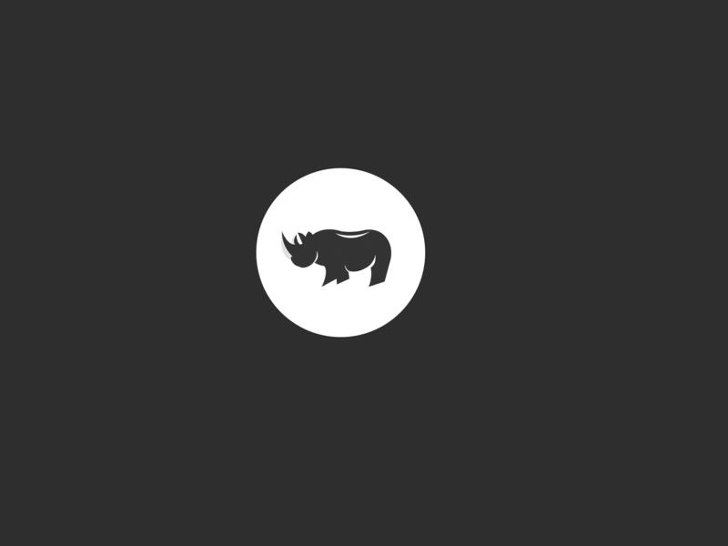 Logo Rhinoceros vector concept vector art vector brand identity brand logos idea brand identity design illustration logo design concept brand and identity typography branding infography logos logo design branding logo folio logo conception logo design logo inspiration logo