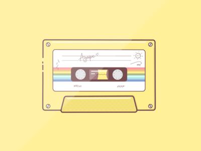 """""""Agape"""" summer cassette"""