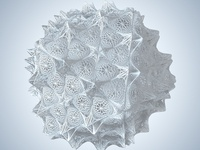 Abstract Mesh Fractal Array