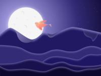 Mountain Illustration 2x