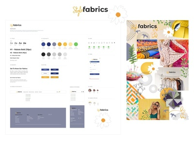 Style Fabrics Style guide & Mood board