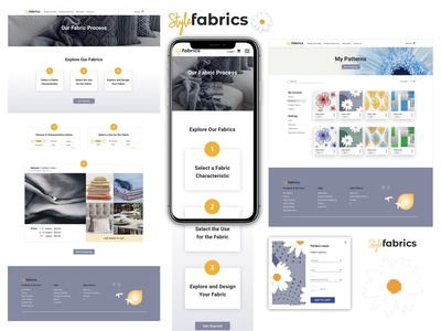 Fabric Pattern Process & Patterns page