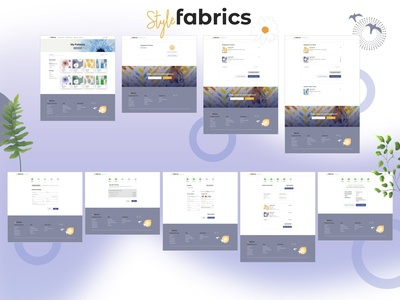 UI - Shopping Cart for Style Fabrics