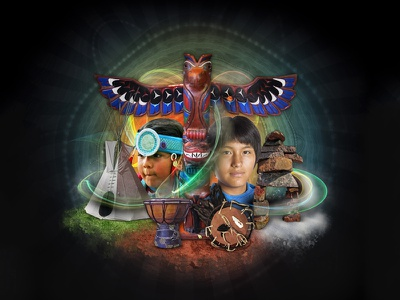 National Aboriginal Day - Campaign Featured Graphic youth affairs native goverment poster canada aboriginal