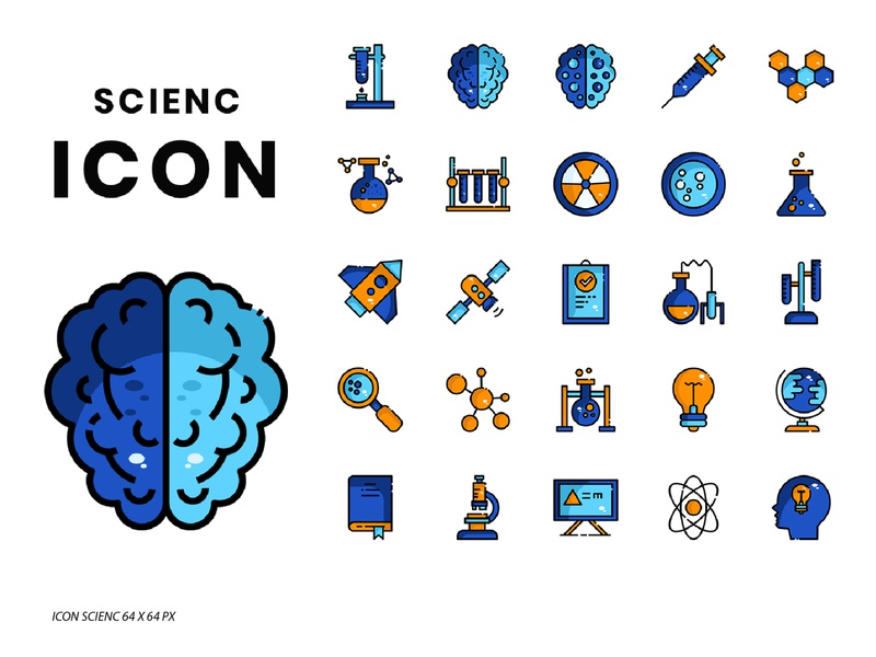 Science iCON iconography science creative market business symbols design symbol icon symbol icon set icon design icon