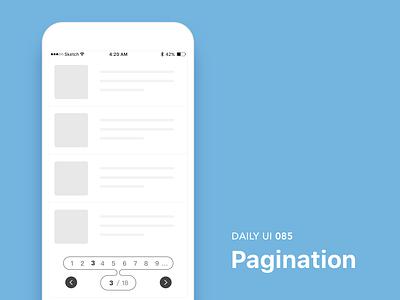 #085-Pagination dailui ui100 dailyui daily daily challange daily 100 daily 100 challenge ui 100 ui100days pagination 85 day85
