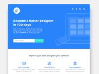 #100-Redesign Daily UI Landing Page