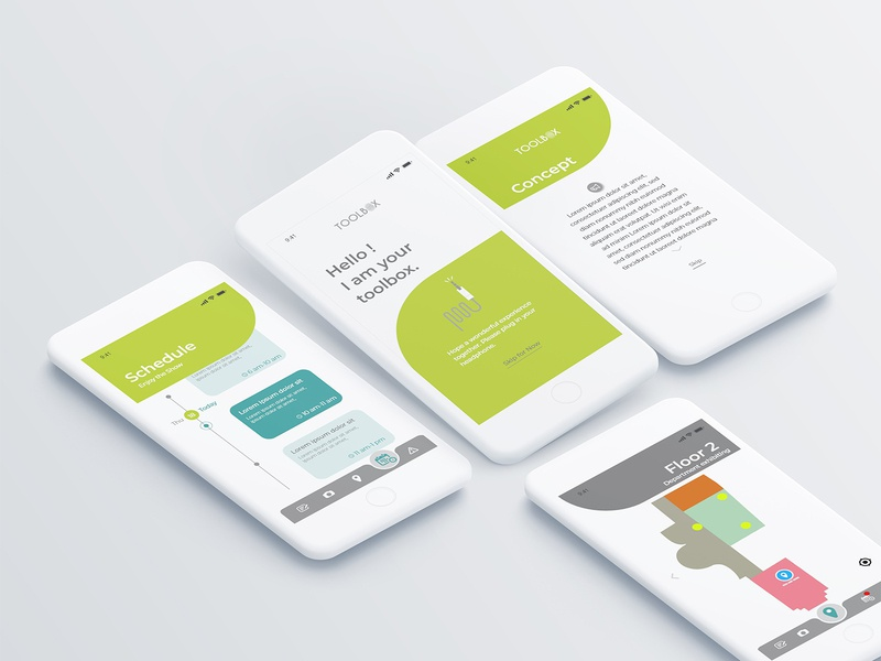 exhibition app UX/UI casestudy