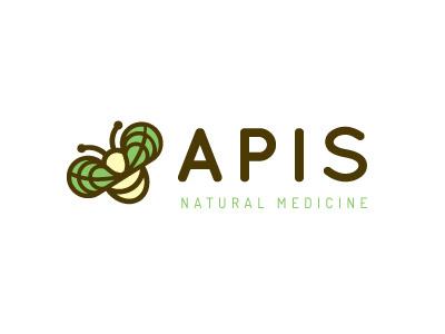 Apis Logo elegant seagulls branding logo design mark identity