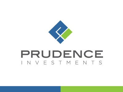 Prudence Logo elegant seagulls design logo branding identity