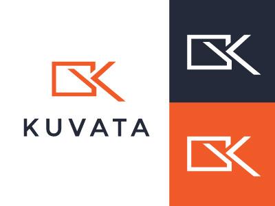 Kuvata Logo Concept logo elegant seagulls branding design identity