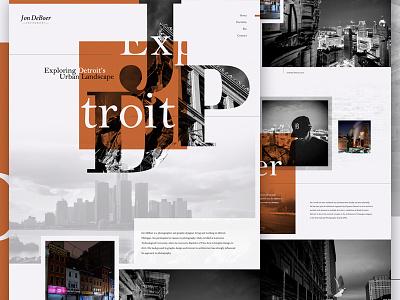 JDP Mock mock-up layout design website web web design
