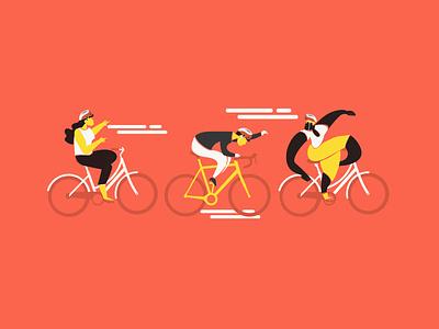 Five Boro Bike Club NYC vector illustrator adobe photoshop adobe illustrator abstract people people fun racer race bicycle app bicycles biker bike ride bike club club sports bicycle bike vector design illustration