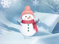 second cute snowmen