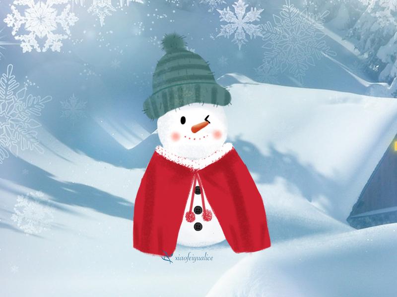 Third cute snowmen