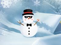Fourth cute snowmen