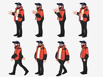 Character design pose sheet for a video cartoon drawings designinpiration design art designs concept concept art characterdesign character painting drawing designer artwork artist art animation indian india design