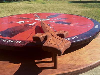 The Wheel of Death wood woodwork death wheel