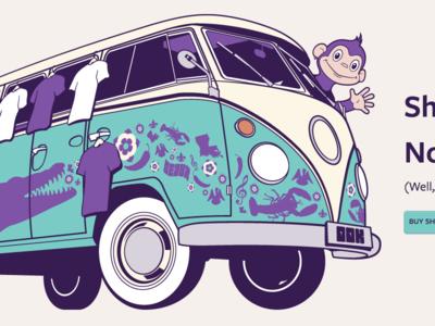 Purple Monkey gator louisiana bus vw volkswagen monkey