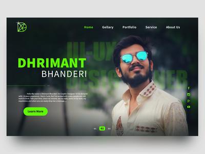 Web - Dhrimant Bhanderi