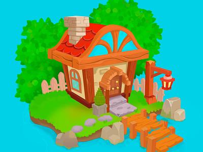 Казуальный домик казуальнаяграфика казуальный graphic design illustration