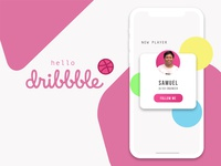 Hello Dribbble, I'm Samuel!