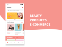 Beauty Products E-commerce
