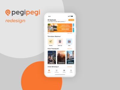 PegiPegi Mobile Redesign - Homepage