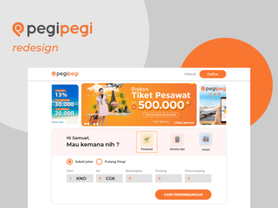 PegiPegi Web Redesign - Homepage