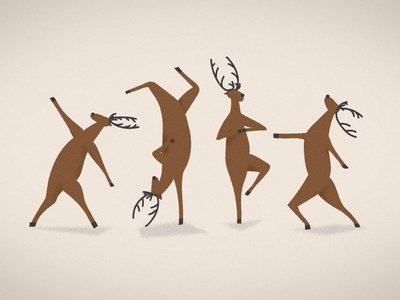 Reindeer Yoga