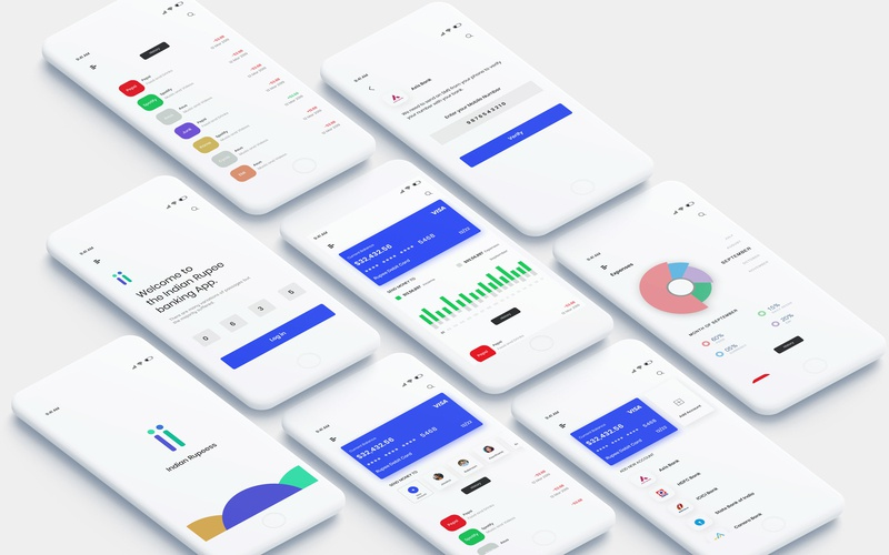 Bank App banking web minimal payment transport expense manager money debit card creditcard xd photoshop typography logo design ios iphone concept android app ui  ux
