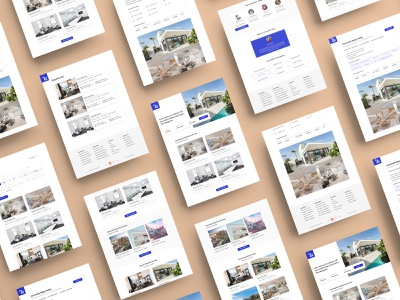 Real Estate Website Theme ui ux logo typography minimal design branding photoshop ios concept web app