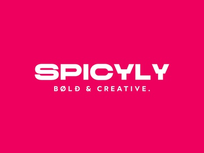 Main Logo | SPICYLy Branding logo social media content brand identity photography freelance creative digital graphic design ilustrator procrate photoshop content design content marketing graphic design social media digital design communication art director