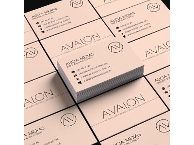 Business Card | CENTRE AVALON social media content brand identity photography freelance creative digital graphic design ilustrator procrate photoshop content design content marketing graphic design social media digital design communication art director