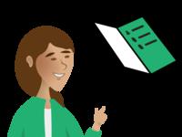 Sanne - Voice Assistant - In app illustration